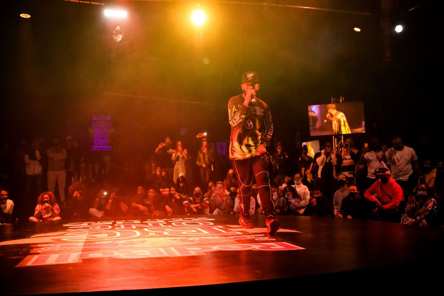 Youngsta CPT performing at the 2021 Red Bull BC One National Finals