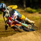 Tristan Purdon racing Round 2 of the 2021 South African National Motocross Championship