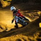 Jordan van Wyk racing Round 2 of the 2021 South African National Motocross Championship