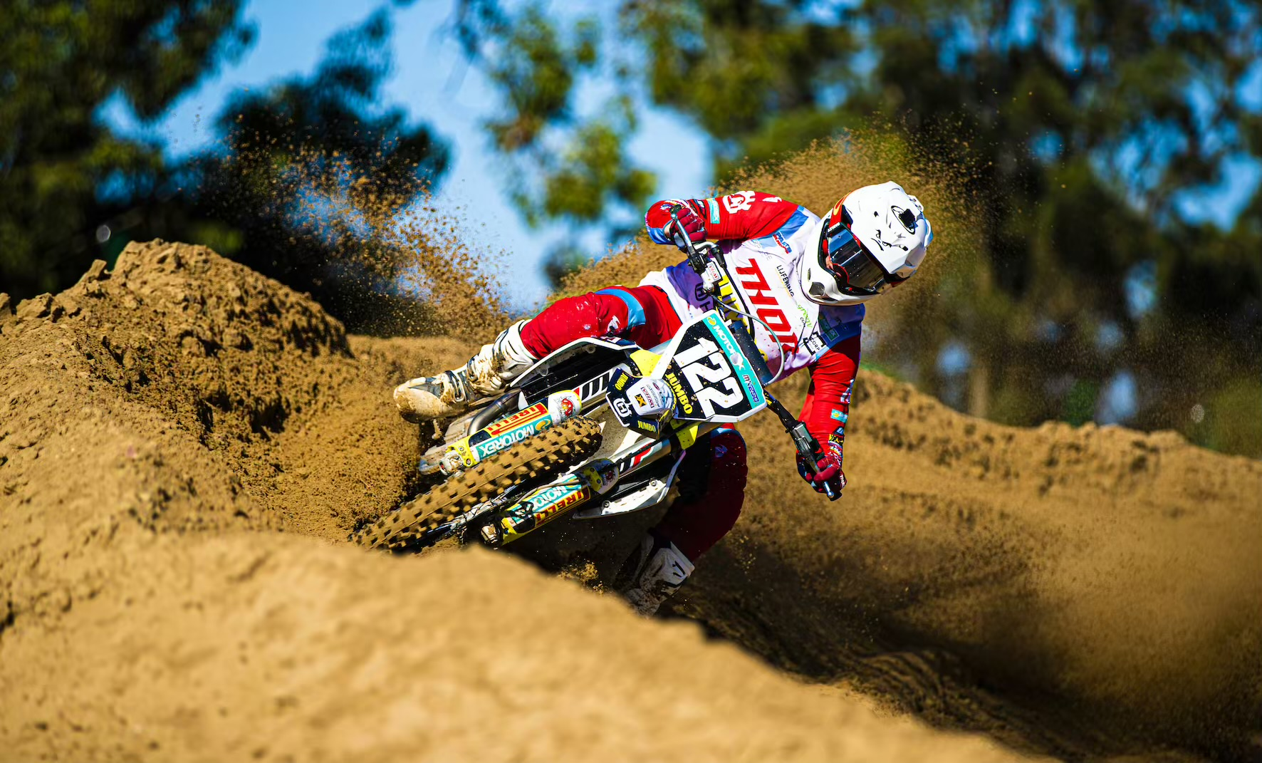Camden McLellan racing Round 2 of the 2021 South African National Motocross Championship