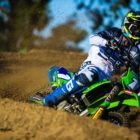 Kayla Raaff racing Round 2 of the 2021 South African National Motocross Championship