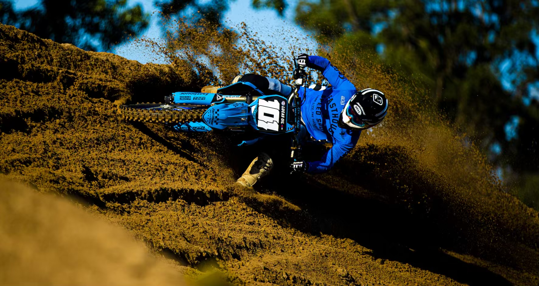 Grant Frerichs racing Round 2 of the 2021 South African National Motocross Championship