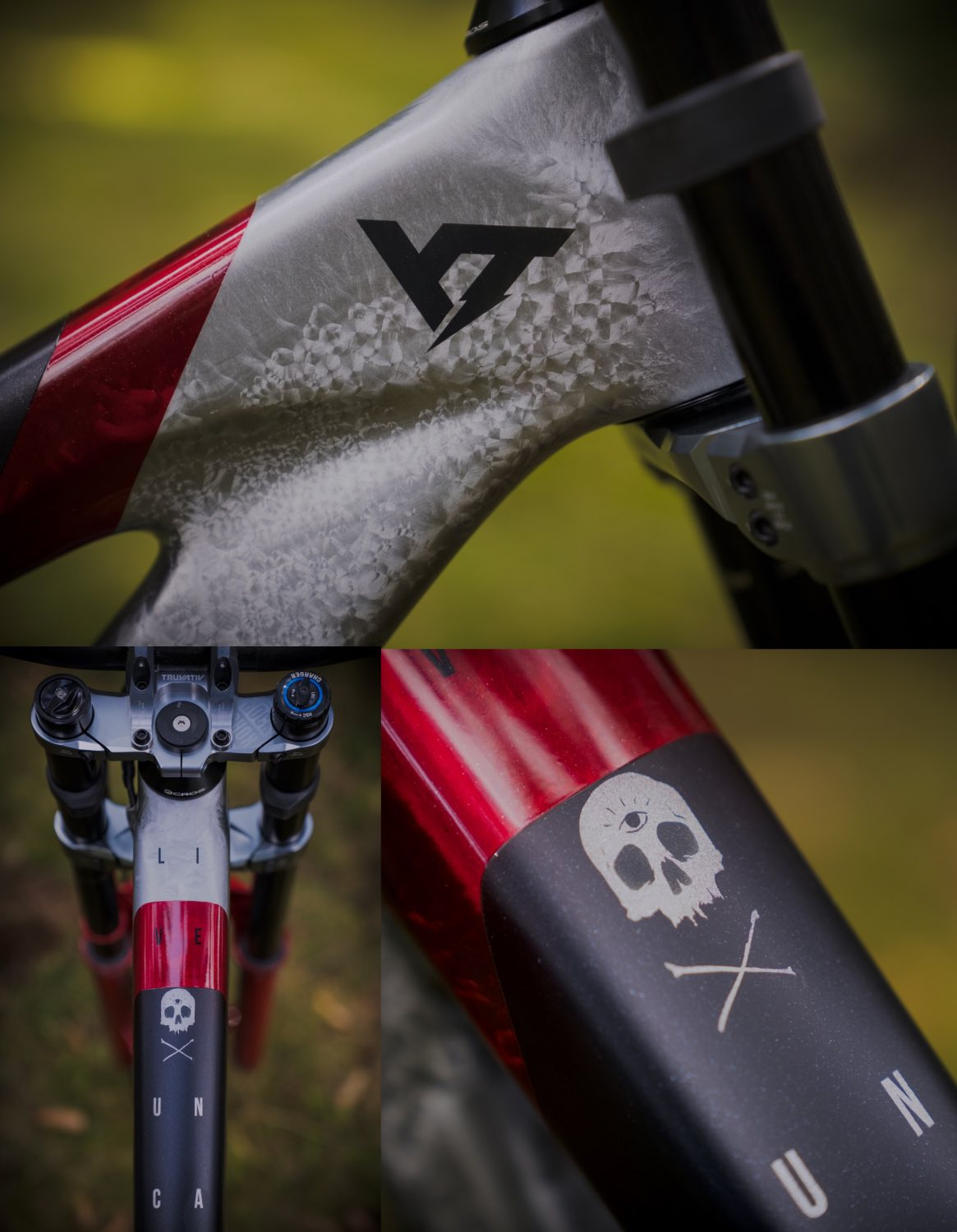 Bike Check feature with Johann Potgieter and his new 2021 YT Industries TUES Downhill MTB