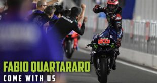 Presenting Monster Energy's Come With Us six part video series. Episode 6: They don't call him El Diablo for nothing. If ever there was a rider on the very cusp of greatness then surely it is Fabio Quartararo.