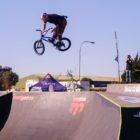 Murray Loubser finishes in 2nd at the Park Lines BMX Tournament