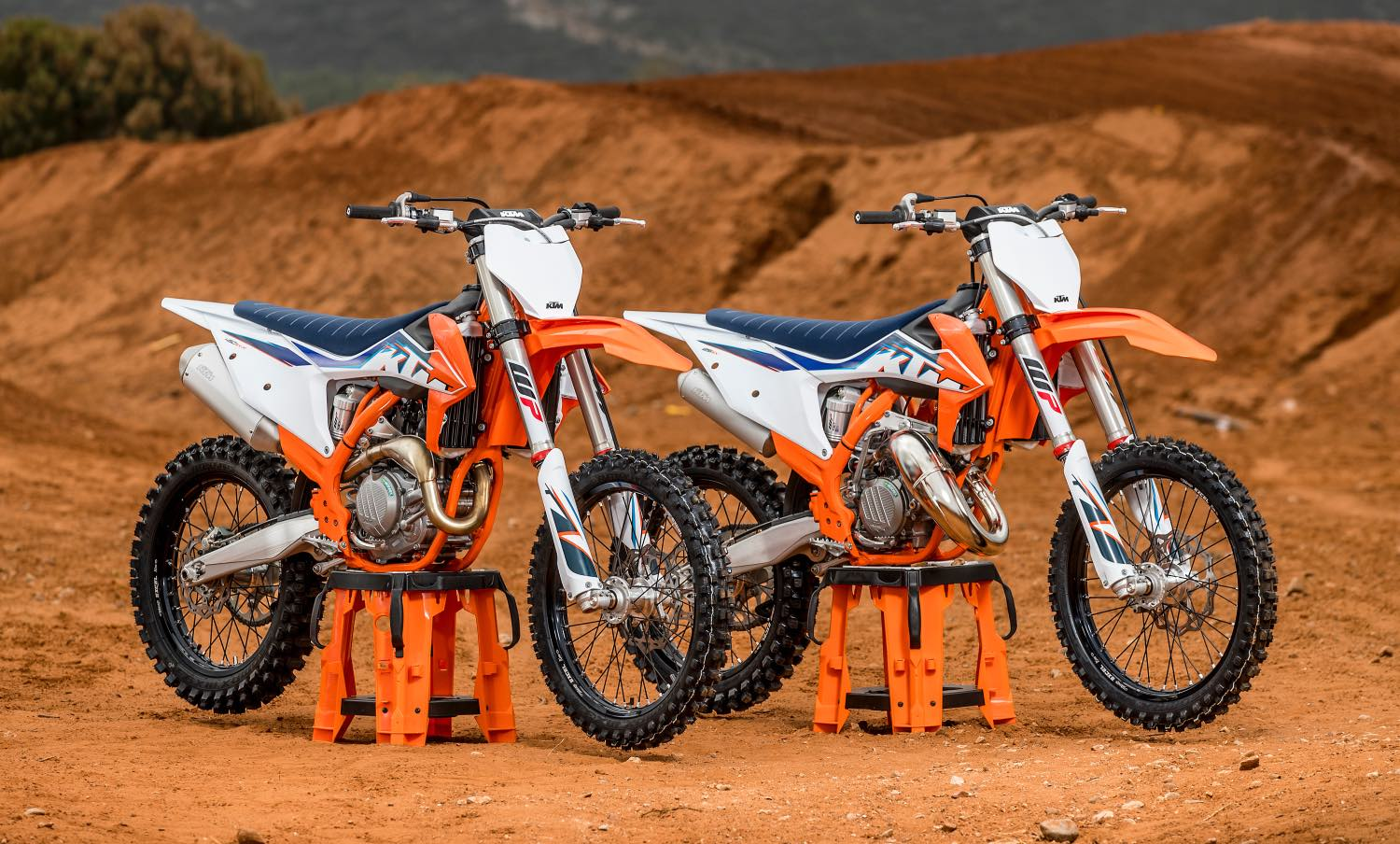 Introducing the 2022 KTM Motocross Range - the most complete and technologically advanced line-up of Motocross bikes