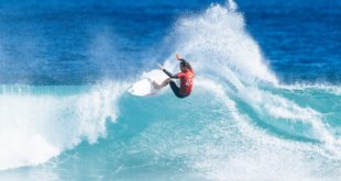 Jordy Smith finishes 2nd at the Boost Mobile Margaret River Pro surfing contest