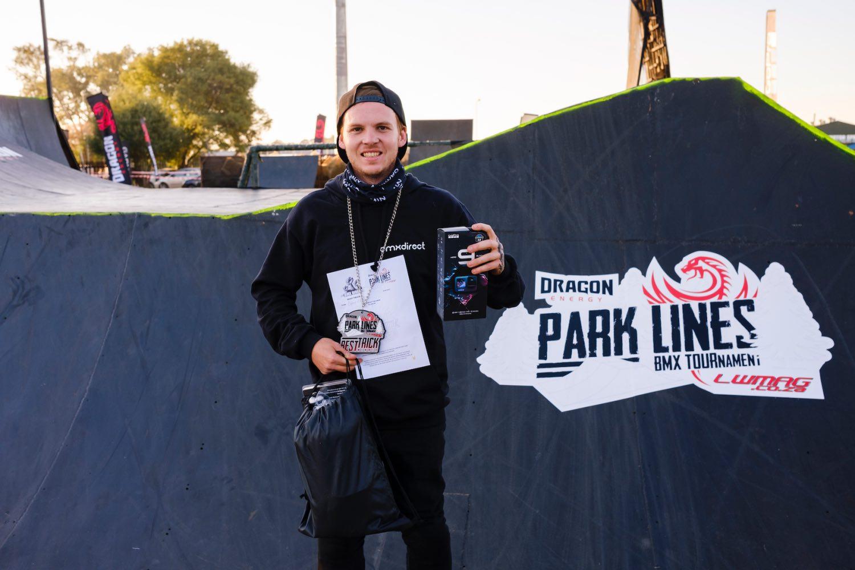 Park Lines BMX Tournament Best Trick Podium
