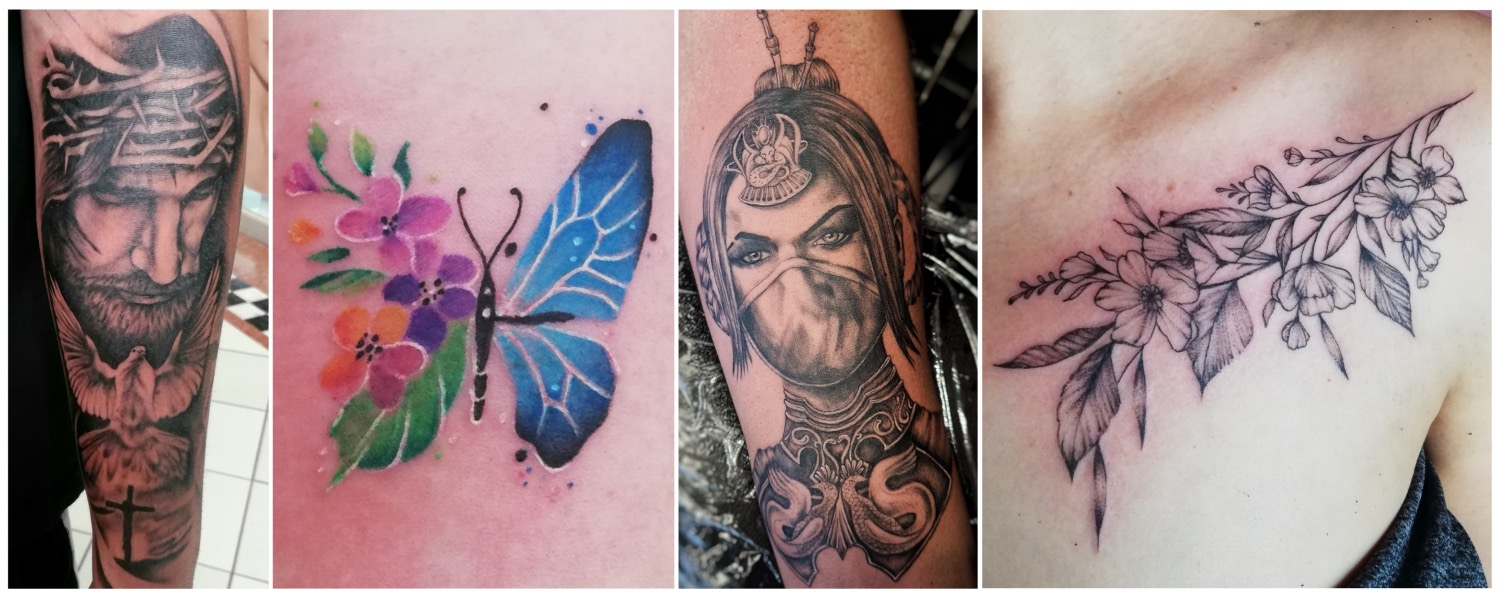 Tattoo work done by Shayleigh Roelofse