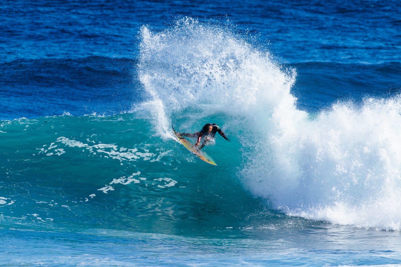 Filipe Toledo wins the Boost Mobile Margaret River Pro surfing contest