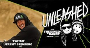 "Monster Energy presents Unleashed with The Dingo and Danny Podcast. The podcast that sets out to celebrate the lifestyle of Action Sports, Motorsports, MMA, Music, Art, and affiliated Pop Cultures. The fifth episode, features Freestyle Motocross innovator Jeremy ""Twitch"" Stenberg and a gang of certified FMX icons."