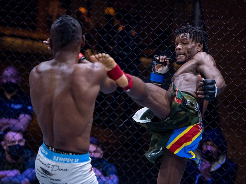 EFC Interim Lightweight Title Fight between Anicet Kanyeba and Alain Ilunga