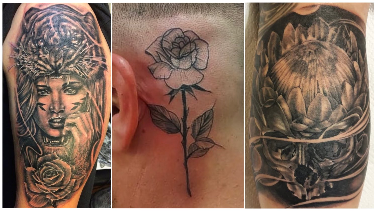 Tattoos done by James Rype