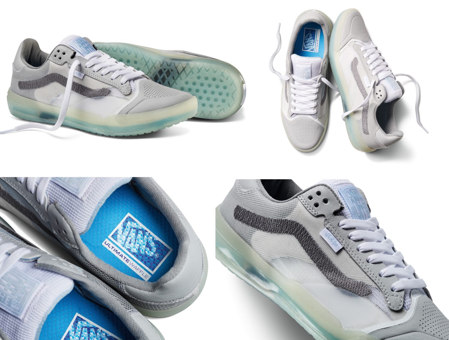 The Vans EVDNT UltimateWaffle comes in a robust color scheme in shades of blue
