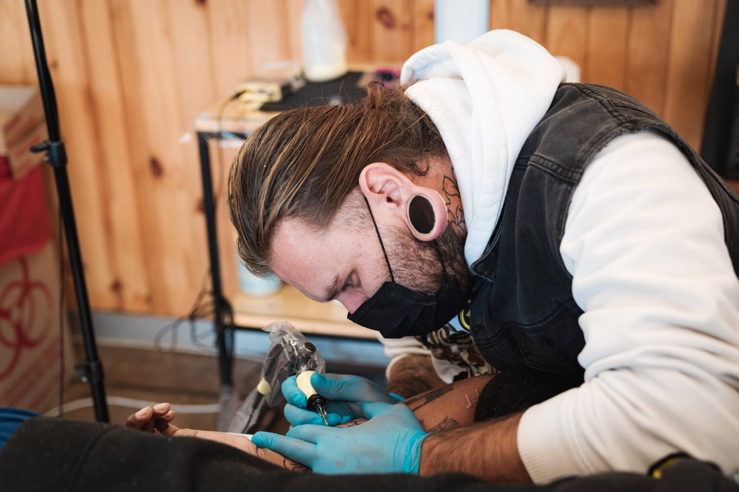 We talk tattoos and art with Chris Theunissen