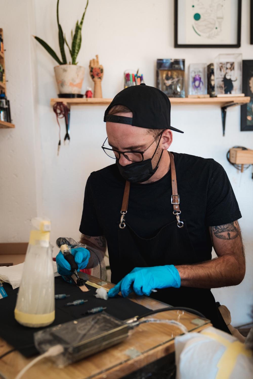 Interview with tattoo artist Charl Steyn