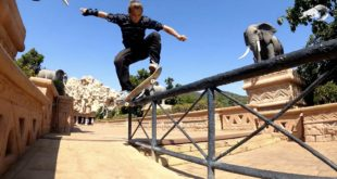 Nothing quite like skating spots that are normally off limits. Brandon Valjalo gets the first access to some of the most iconic spots at the Sun City Resort.