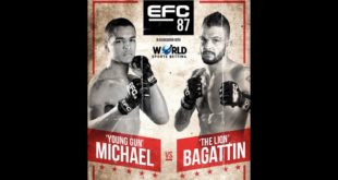 EFC 87 goes down, behind closed doors, this Saturday, 3 July, at the EFC Performance Institute in Johannesburg. The stacked Fight Card features 12 exciting MMA bouts.