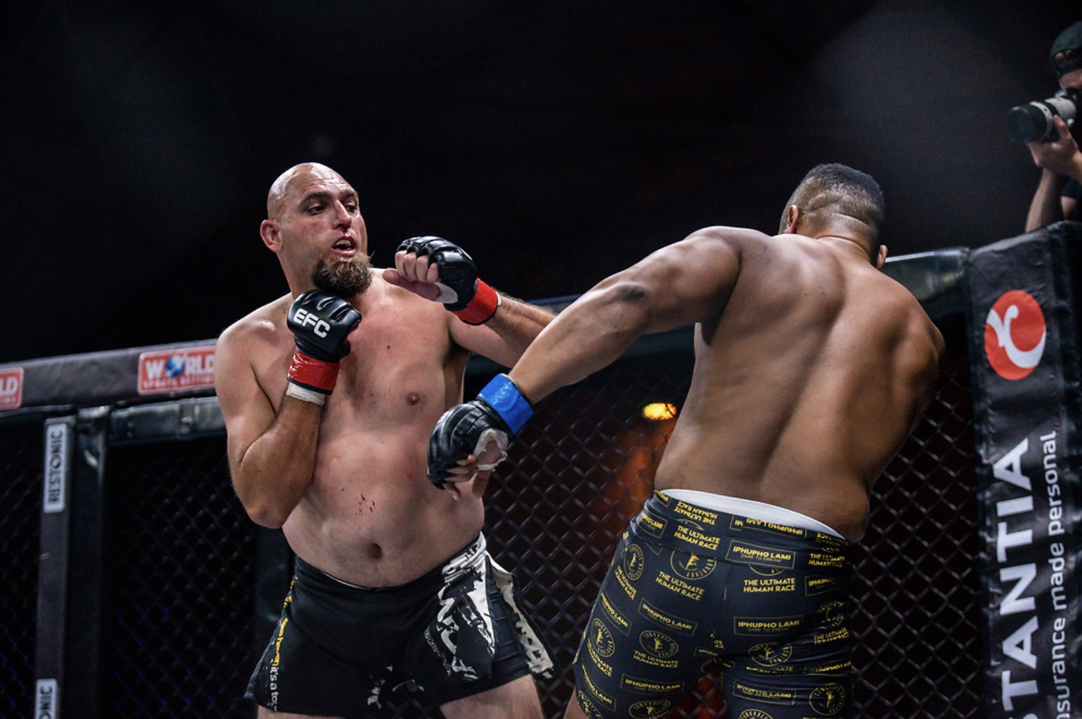 Results from all 11 MMA fight at EFC 87