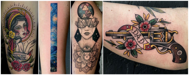 Tattoos done by Charl Steyn