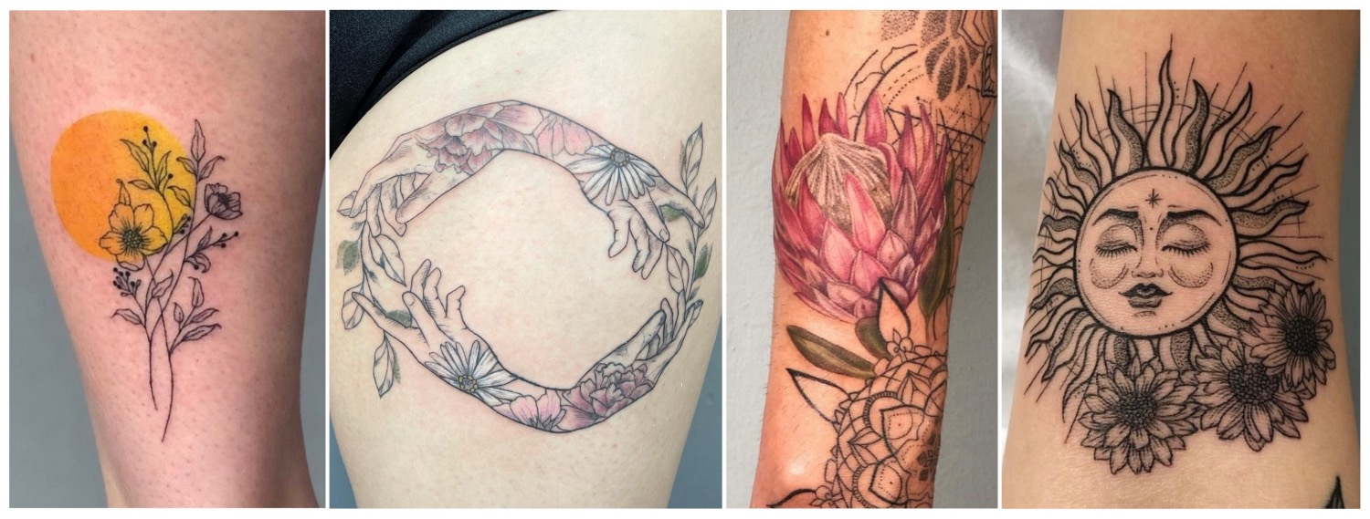 A selection of tattoos done by Mich Mulder