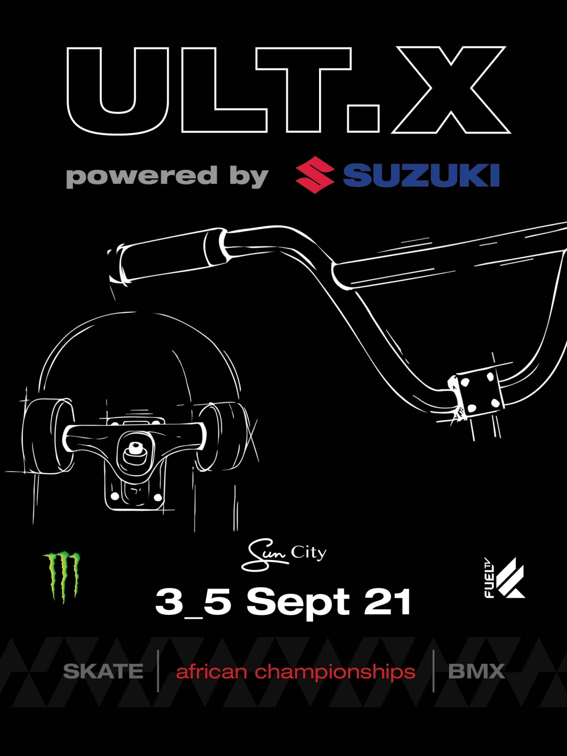 Action Sports returns to Sun City with ULT.X 2021 and the African BMX and Skateboarding Championships