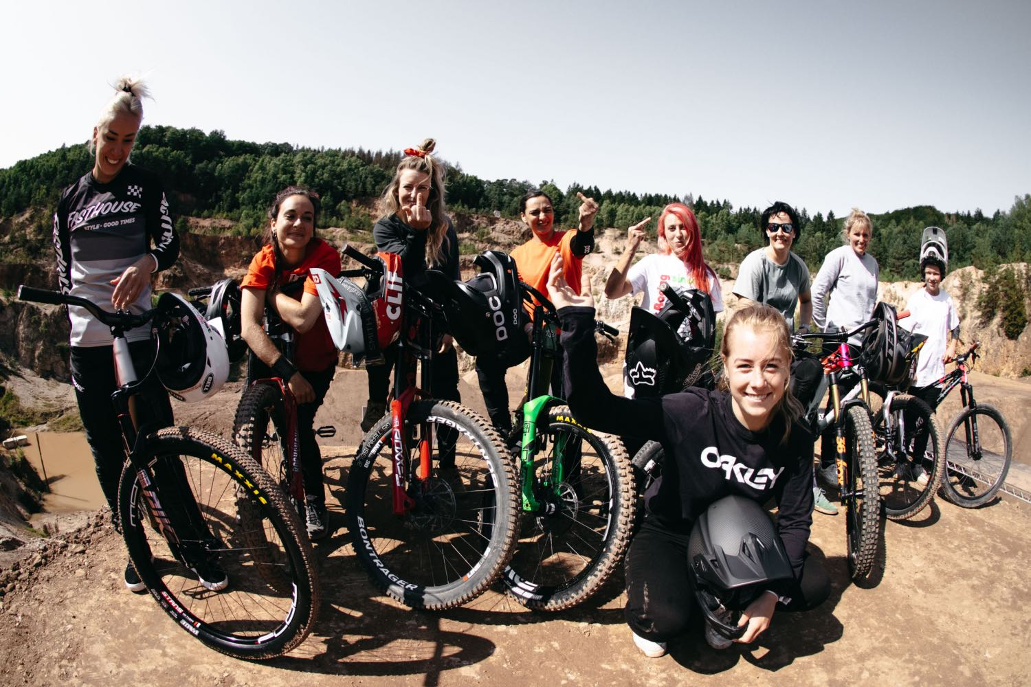 Women riders included into the Audi Nines MTB event