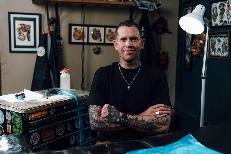 Meet Ross Hallam as our featured tattoo artist