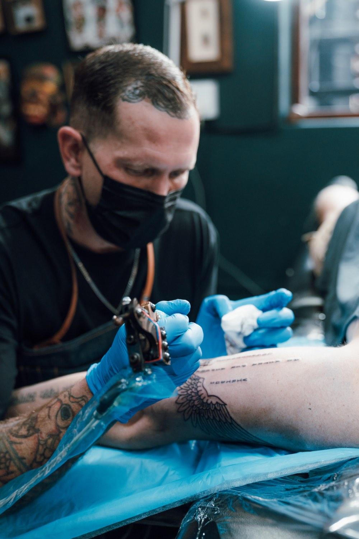 We talks tattoos with tattoo artist Ross Hallam