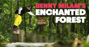 Snowboarders like Benny Milam have the skills to sniff out features and lines in unexpected places, and make the most of the little things while dreaming big.Benny's dreams become a reality as he stumbles upon a zone that transcends him into another dimension - Enchanted Forest.