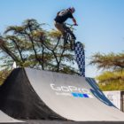 Murray Loubser competing in the BMX contest at ULT.X 2021