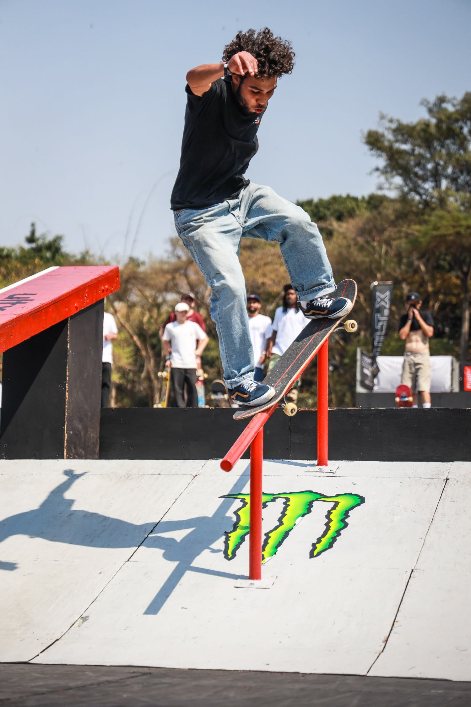 Ethan Cairns competing in the Skate contest at ULT.X 2021
