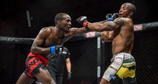 MMA action between Eduardo Barros and Orlando Machava at EFC 89