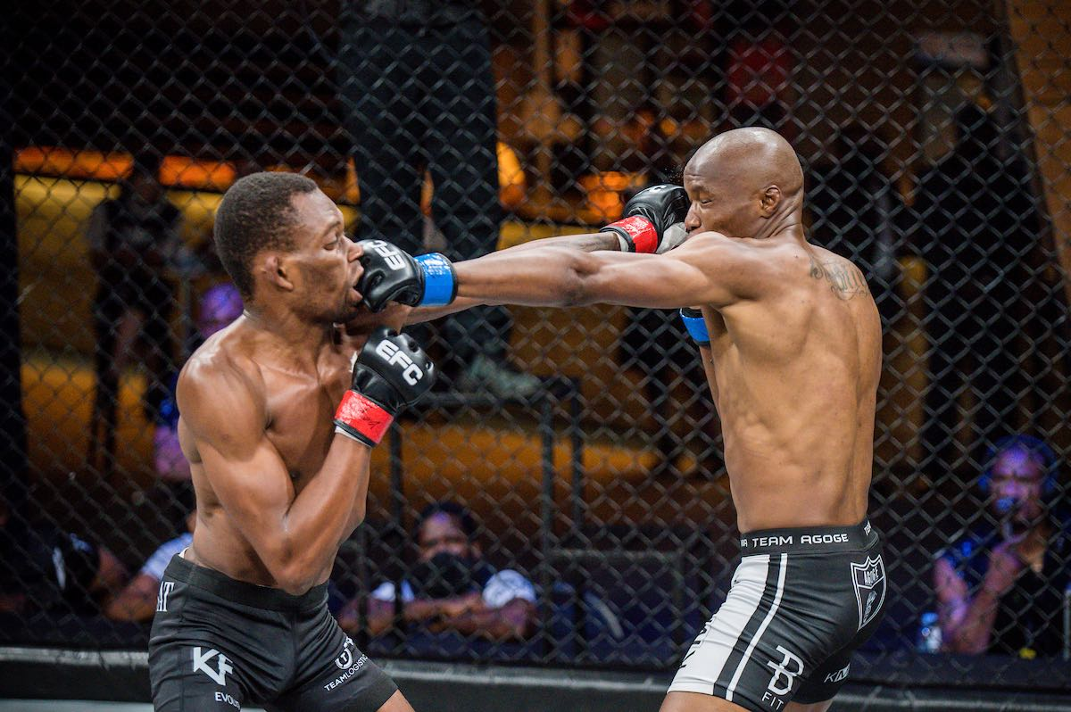 Get the results from all nine MMA fights from EFC 89