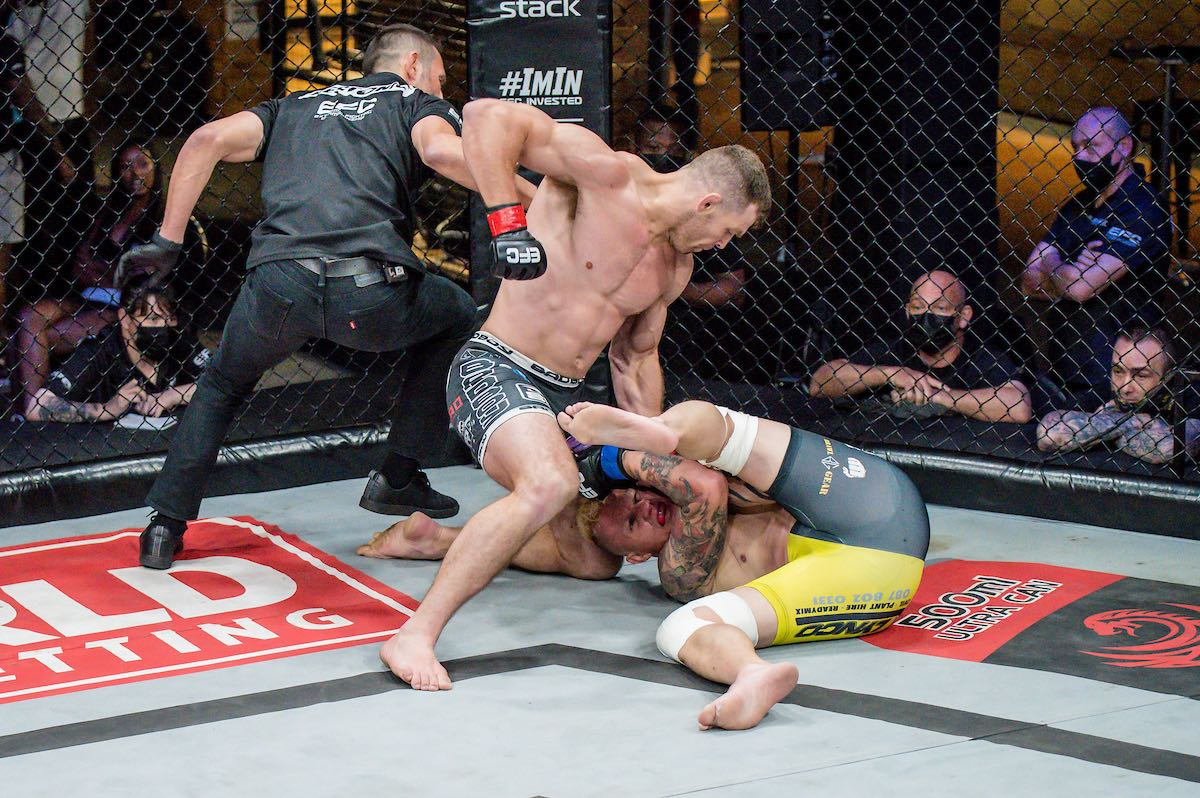 Get the results from all nine Mixed Martial Arts fights from EFC 89