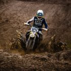Grant Frerichs racing in the MX3 class at Round 4 of the 2021 South African National Motocross Championship
