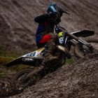 Neil van der Vyver racing at Round 4 of the 2021 South African National Motocross Championship