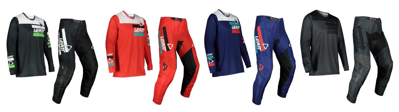 2022 Leatt 3.5 Ride Kit Jersey and Pants options