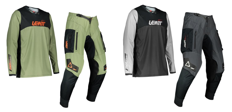 2022 Leatt 4.5 Enduro Jersey and Pants options