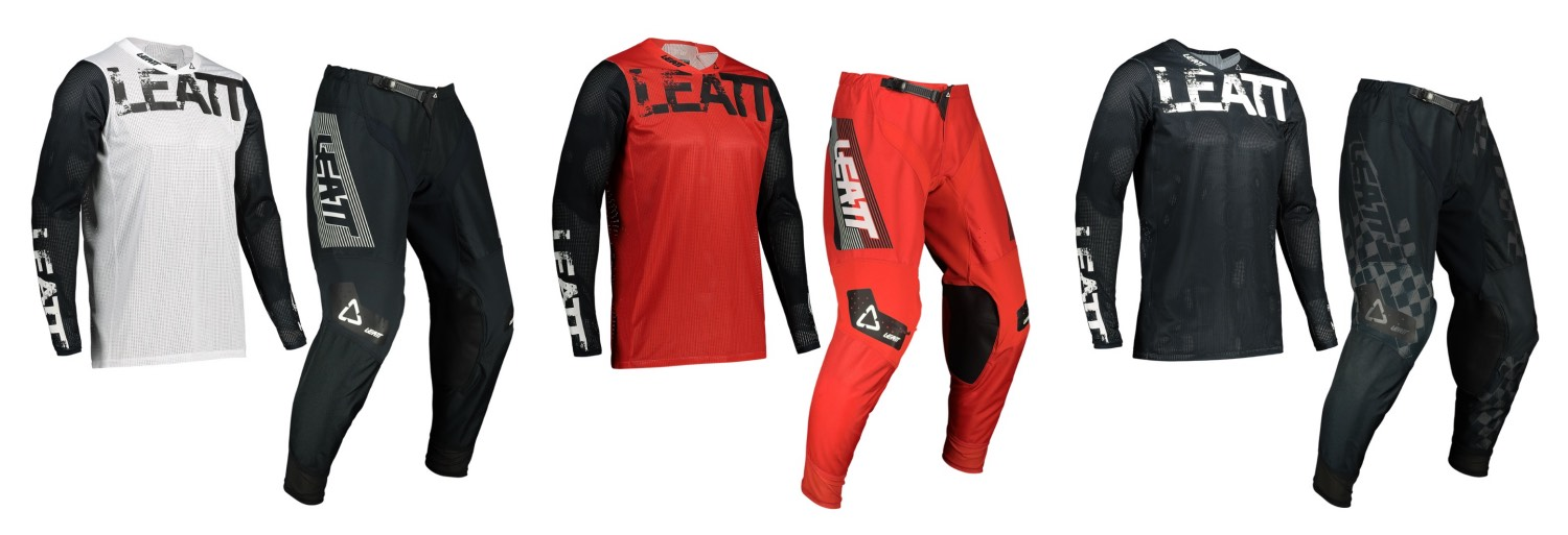 2022 Leatt 4.5 Flow Jersey and Pants Options