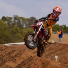 Blade Tilley racing the fifth round of the 2021 South African National Motocross Championship