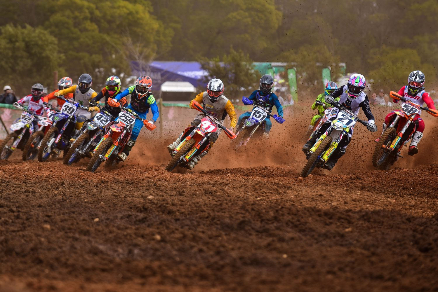 Race report and results from the fifth round of the 2021 South African National Motocross Championship