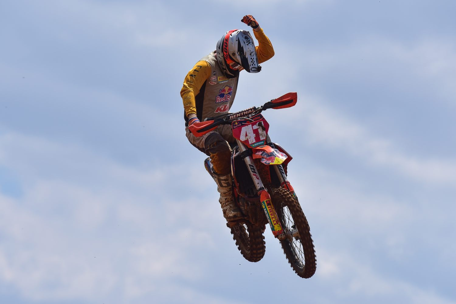 Tristan Purdon racing the fifth round of the 2021 South African National Motocross Championship