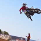Grant Frerichs racing the fifth round of the 2021 South African National Motocross Championship