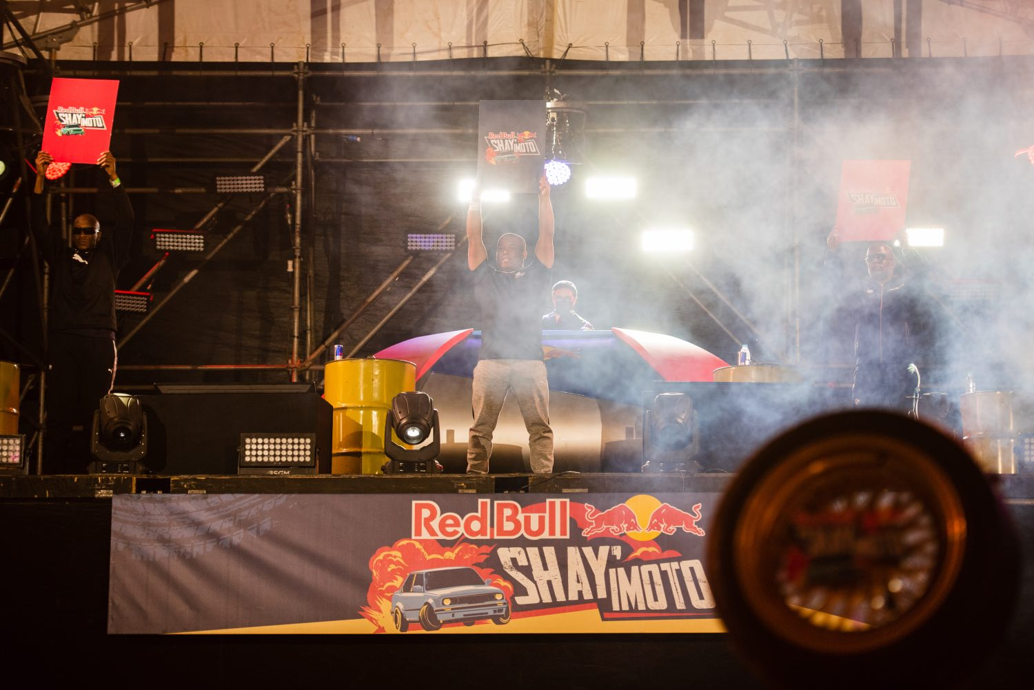 Judges seen during Red Bull Shay' iMoto in Johannesburg