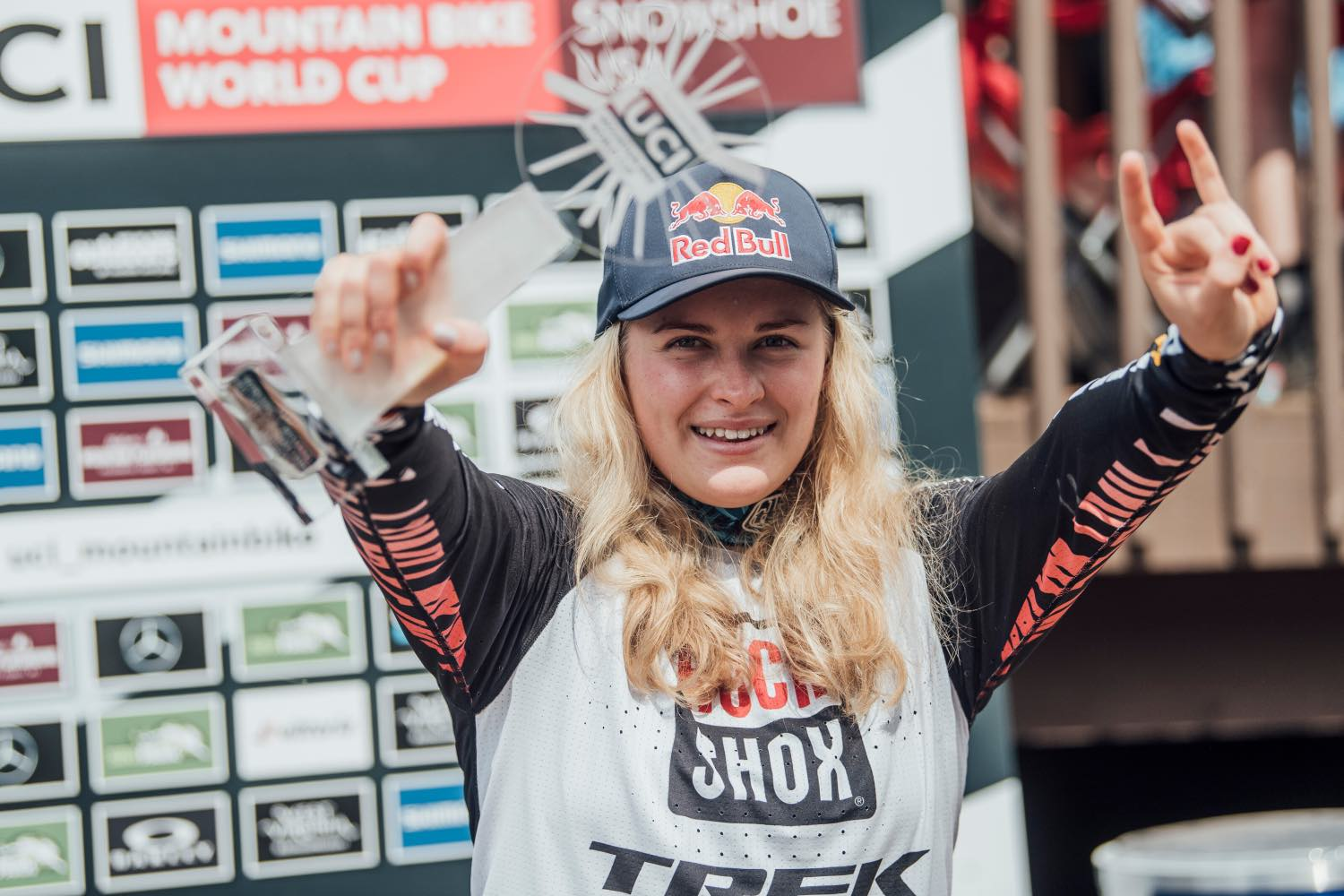 Vali Holl is your 2021 Downhill MTB World Cup Champion