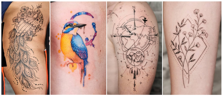 Tattoo work done by Emilia Glover