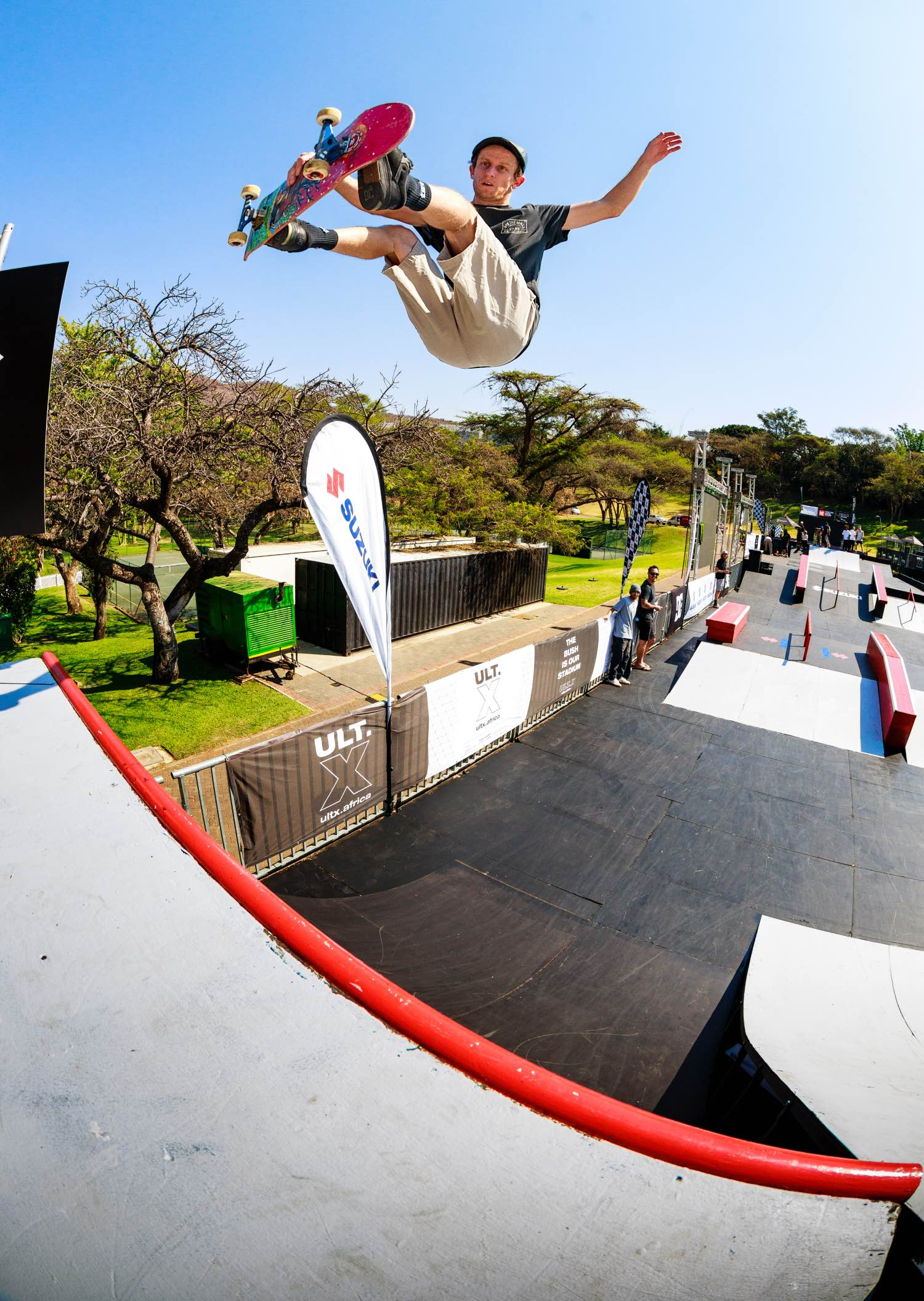 Kalvyn Mac Millan competing in the Skate contest at ULT.X 2021