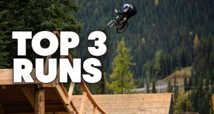 Traditionally held in Whistler, this year's Canadian stop of the Crankworx Slopestyle MTB World Tour took place in British Columbia at the SilverStar course. Watch the Top 3 runs and get the full results here.