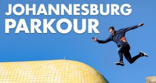 """Dom di Tommaso takes on a Freerunning adventure in the City of Gold -Johannesburg. Watch as he puts hisparkour skills to the test and completes all four levels of the """"game"""", stringing together trick combinations and incredible jumps."""